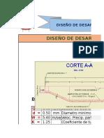 01. DISEÑO DESARENADOR
