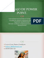 Trabajo de Power Point