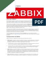 Instalación de Zabbix