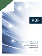 Launceston Traffic Study Summary Report - 2014