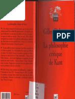 Deleuze - La Philosophie Critique deKant.pdf