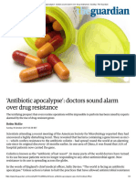 'Antibiotic Apocalypse'_ Doctors Sound Alarm Over Drug Resistance _ Society _ the Guardian
