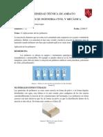 12 Aplicaciones de Los Polimeros