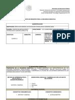 secuencia 1° parcial Quimica II
