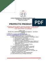 Proyecto  Productivo Jabonero