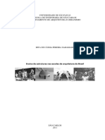 Ensino de Estruturas Nas Escolas de Arquitetura Do Brasil