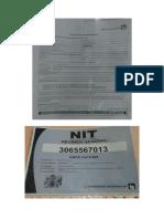 ejemplo de nit y certificado de inscripcion