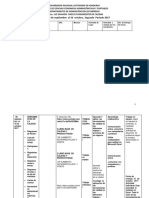 Planificación Cuarta Prueba Segundo Periodo 2017