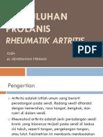 Penyuluhan Prolanis Rheumatik Artritis