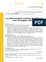 Références liées au CECRL
