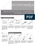 Manual Griferia 8
