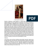 Saint Dorothy of Caesarea