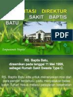 Presentasi Direktur RSBB (20 Mei 2014)