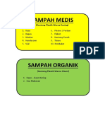 Label Sampah