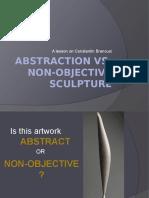 brancusi abstraction