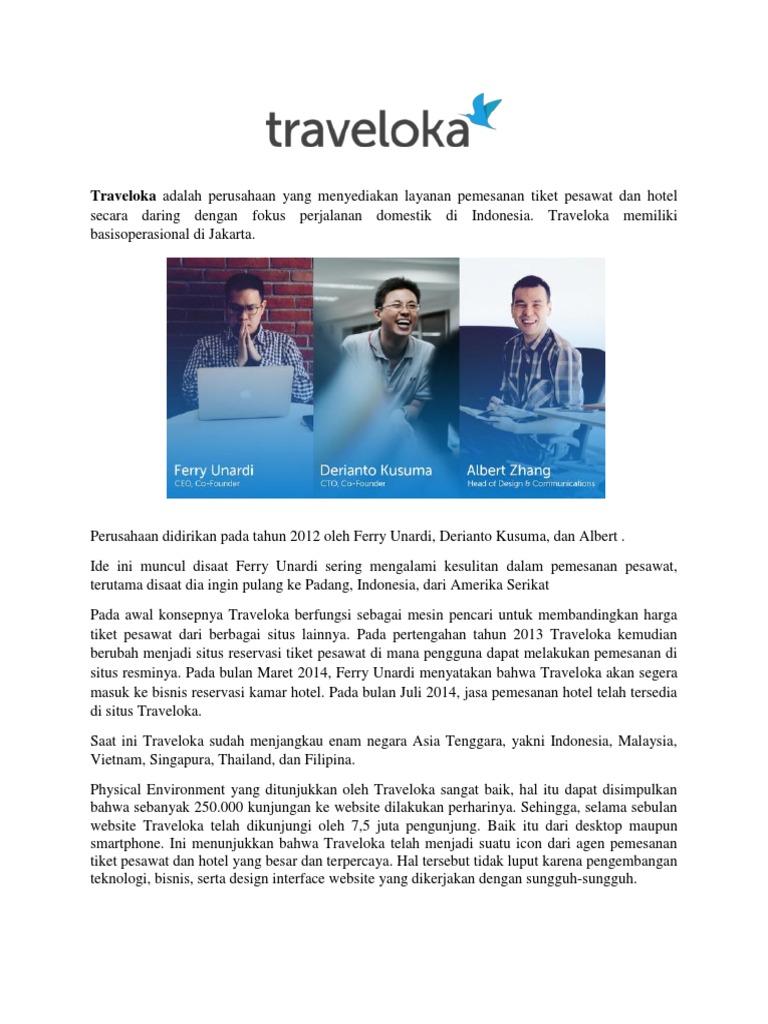 Traveloka Makalah