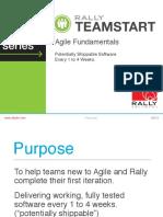 Agile Fundamentals 09102013