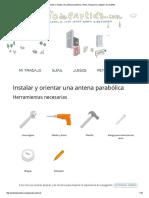 Cómo Orientar e Instalar Una Antena Parabólica a Astra, Hispasat o Cualquier Otro Satélite