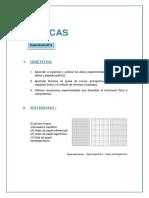 Informe de Laboratorio de Fisica N2 GEOLOGIA