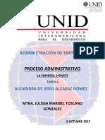 Tarea 4 Proceso Administrativo