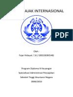 Analisis Tax Treaty Indonesia-Kuwait