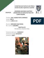 Reporte 5 Manufactura