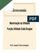 Maximização da Utilidade - Cobb-Douglas.pdf