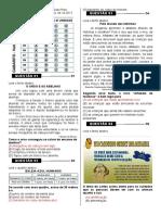 Avaliação de Lingua Portuguesa - 5º Ano Gabarito