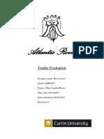 bens tender evaluation