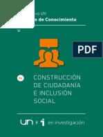 Agendas Del Conocimiento. Nuevas Ciudadanías