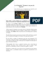 Noticia Deportiva Peru Carlos Arturo