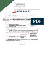 Anuncio de Empresa Metadurgia Sac