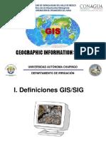 Capitulo I. Introducción a Los SIG