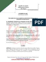 Acuerdo 022 Estatuto de Rentas