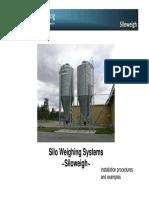 Leon Engineerng SiloWeigh Presentation Installation Procedures Examples