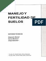 Manejo y Fertilidad Del Suelo
