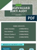 KELOMPOK 8_S1AK14B- Evaluasi Bukti Audit