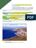 Acantilados Litorales - resumen