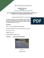 Plan de Ordenamiento Territorial Pot de Bogota d