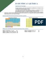 Temario de Física y Química
