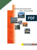 Catalogue Voirie Dimension Chaussees Et Annexes 2000