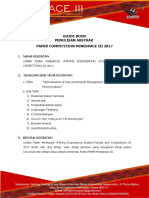 Panduan Abstrak Paper Competition Minespace III