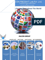 Falcon Freight Pvt. Ltd custom clearance,freight forwarding agent in India