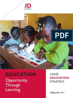 USAID Education Strategy 2011 to 2015