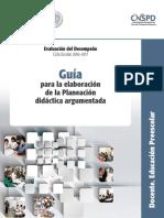 guia para la elaboracion de la planeacion didactica argumentada.pdf