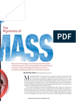 The Mysteries of Mass- Article