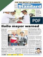 The Manila Standard 20170829 Tuesday