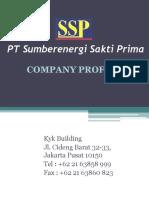 PT SSP Company Profile