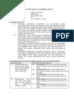 RPP sem 1 dasar desain grafis