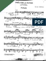 Brotons,S.-preludio y Danza